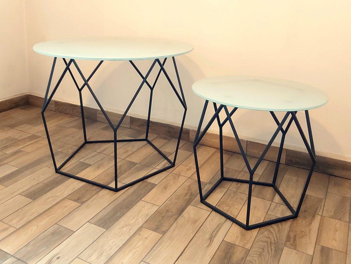 Холна маса - Елмаз | Метал арт